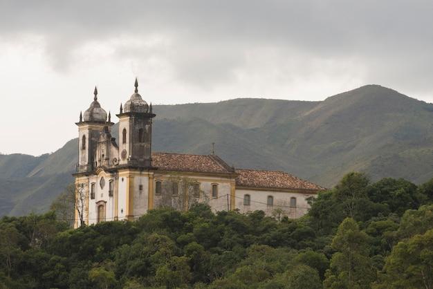 Church of saint francis of paola, in ouro preto, minas gerais, brazil Premium Photo