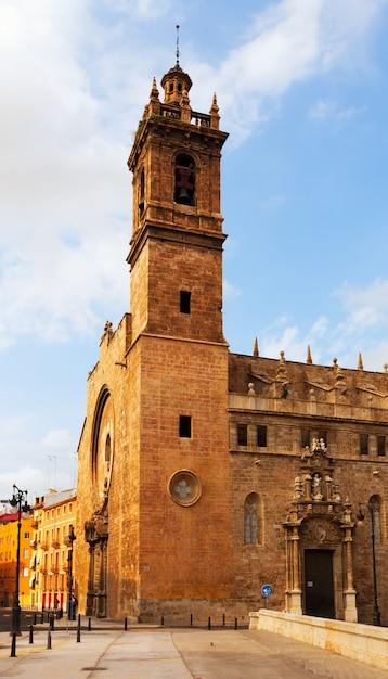Church of santos juanes in valencia Free Photo