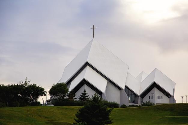 Church at sunset Free Photo