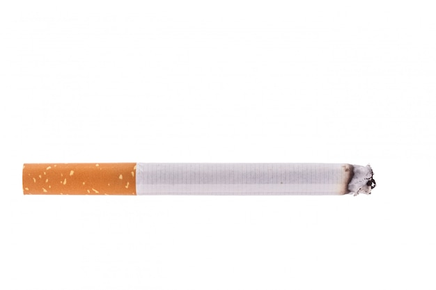 Cigarette. studio shot isolated Premium Photo