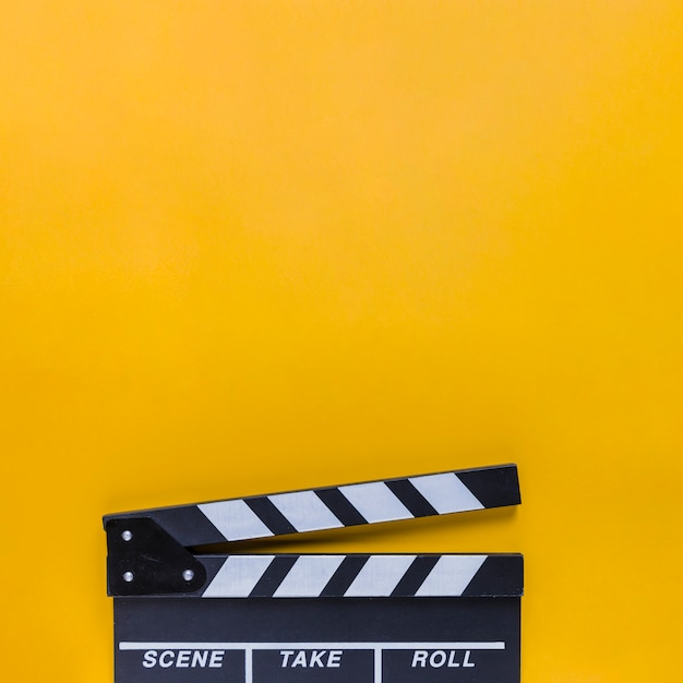 Cinema clapperboard Free Photo