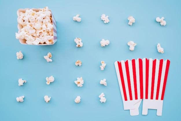 Cinema popcorn box Free Photo