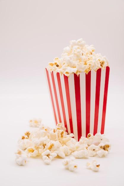 Cinema popcorn box Premium Photo