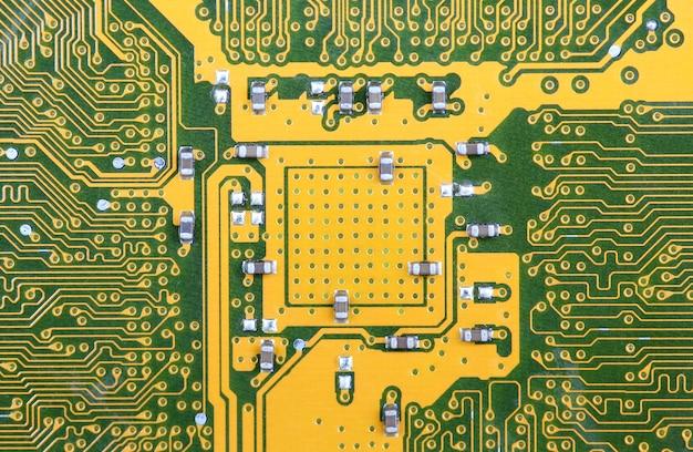 Circuit board background Premium Photo