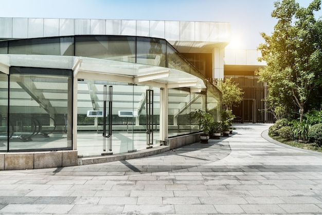 City commercial buildings Premium Photo