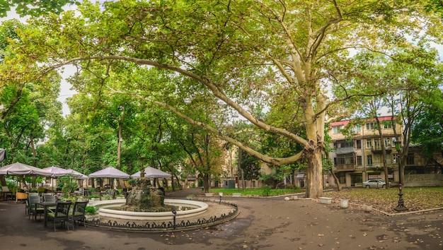 City square palais-royal in odessa, ukraine Premium Photo