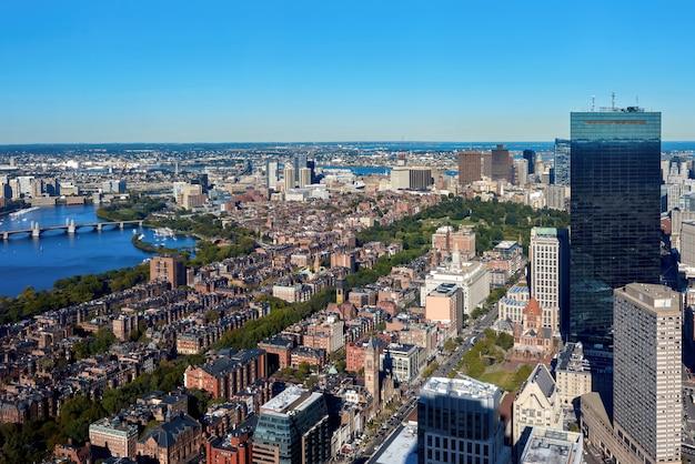 アメリカ、ボストンの街並み Premium写真