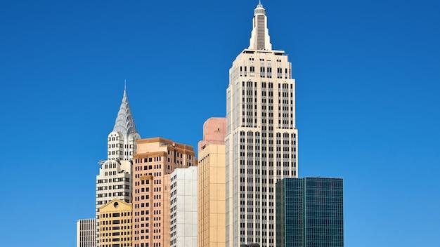 Городской пейзаж лас-вегаса, сша Premium Фотографии