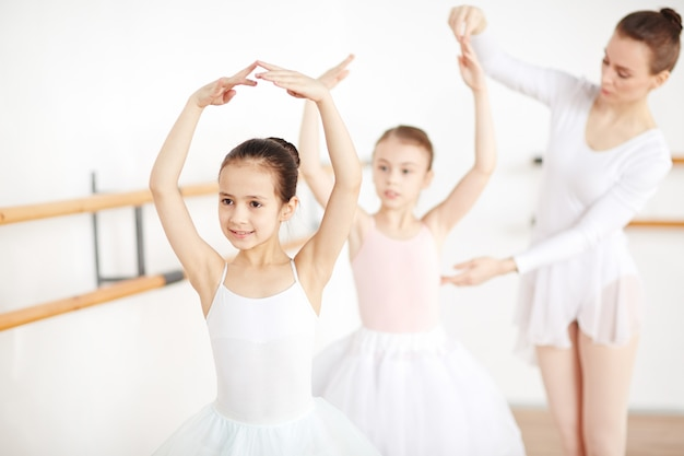 Class of ballet dancing Free Photo