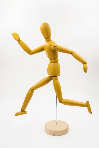 Classic dummy with different postures Free Photo