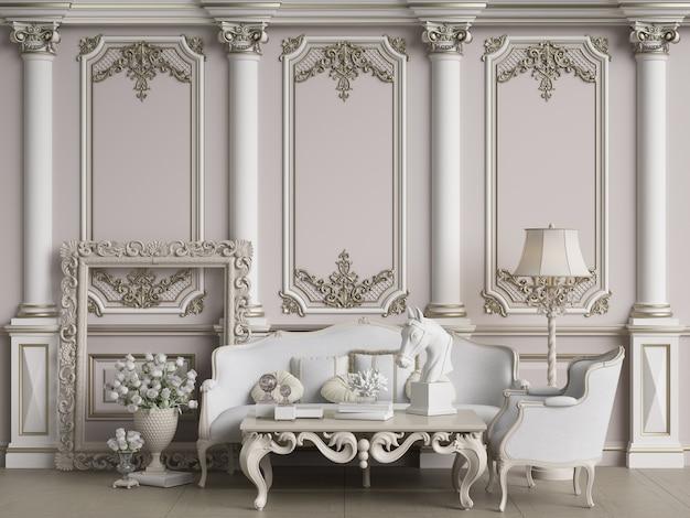 Premium Photo Classic Furniture Set, What Is Classic Furniture Design