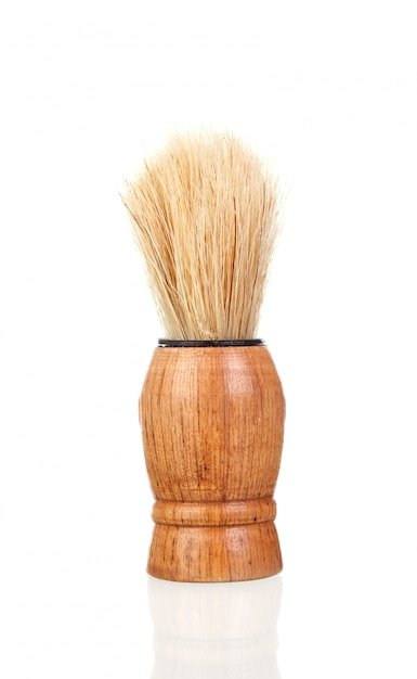 Classic shaving brush Premium Photo