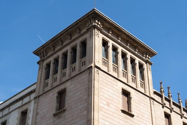 Classic stone building Premium Photo