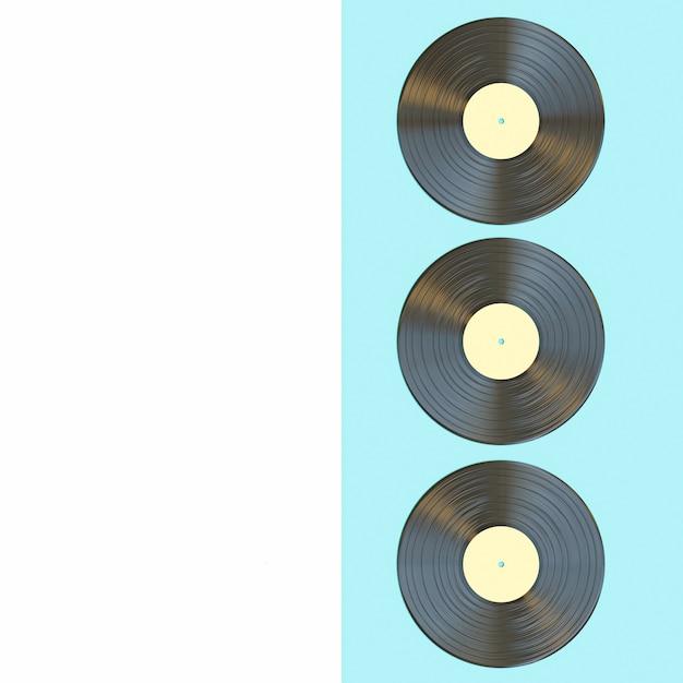 Classic vinyl record Premium Photo