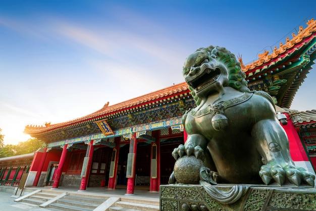 Classical architecture in beijing, china Premium Photo