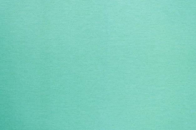 Clean fabric texture in mint color. Premium Photo
