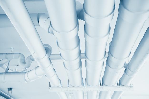 ビル内のクリーンライン給水輸送システム Premium写真