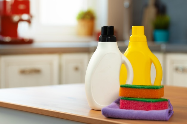 cleaning detergents tools kitchen counter 93675 89721