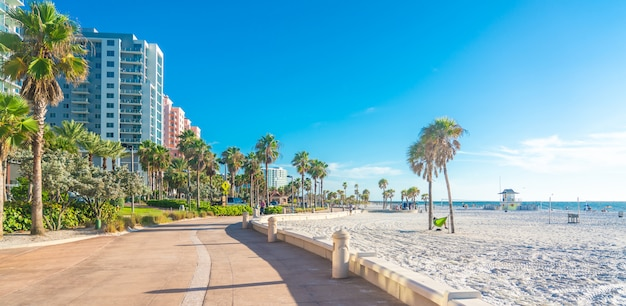 clearwater beach with beautiful white sand florida usa 130111 1231
