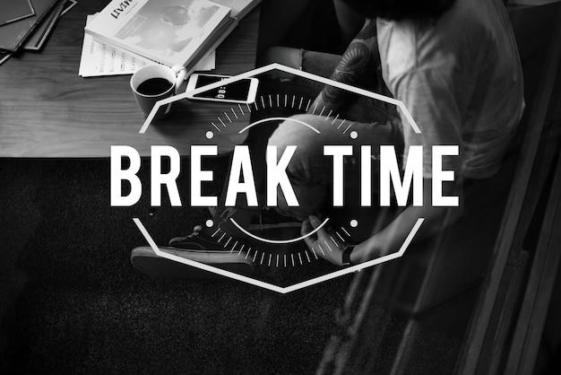 Clock time lifetime eternity icon Free Photo