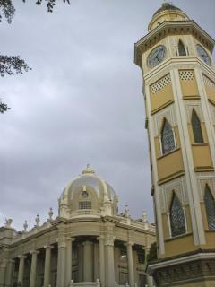 Clock tower, tall Free Photo