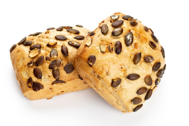 Close u pon rye eco breads Premium Photo