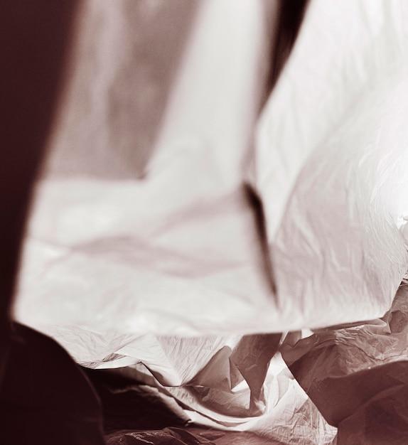 クローズアップの抽象的なビニール袋のコンセプト 無料写真