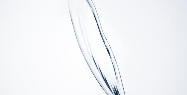 Forma astratta dell'acqua del primo piano con lo spazio della copia Foto Gratuite