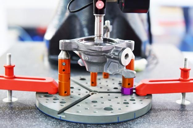 Close up automatic coordinate measurement machine Premium Photo