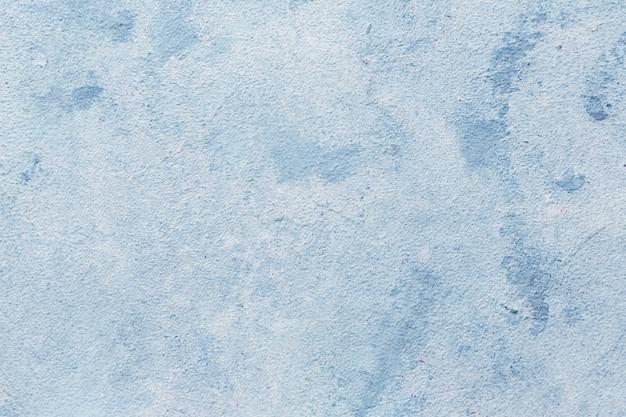 クローズアップブルー汚れた背景テクスチャ Premium写真