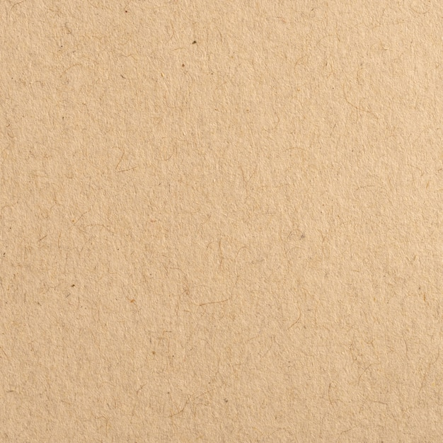 Close up brown kraft paper texture and background. Premium Photo