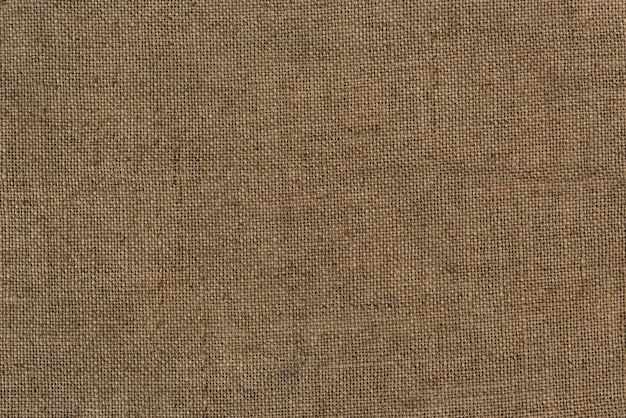 Close up of a burlap jute bag textured background Free Photo