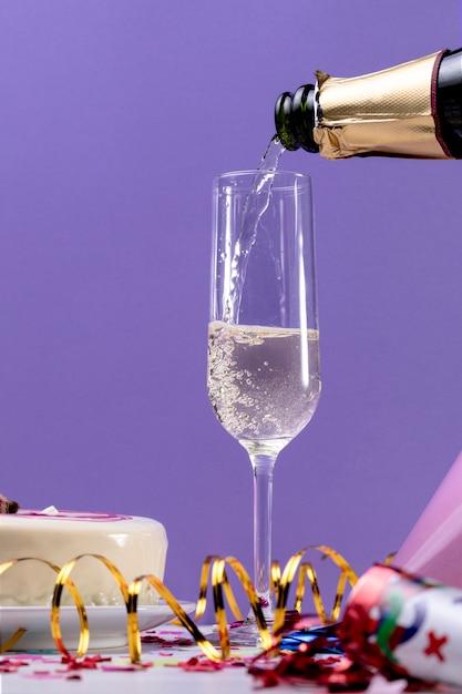 Крупный бокал для шампанского Бесплатные Фотографии