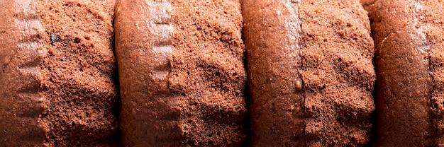 Шоколадные торты крупным планом Бесплатные Фотографии