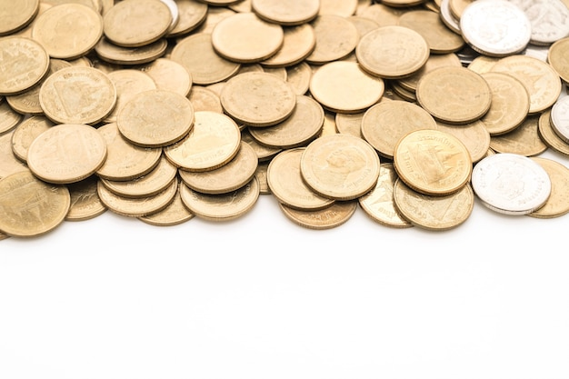 Close up coin textures Free Photo
