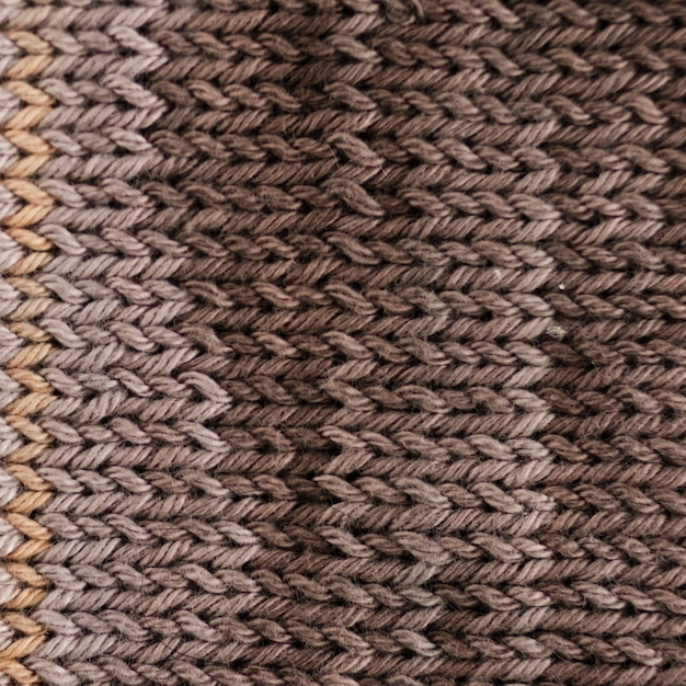 Close-up of crocheted wool Free Photo