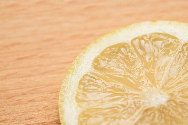 Ломтик лимона крупным планом Бесплатные Фотографии
