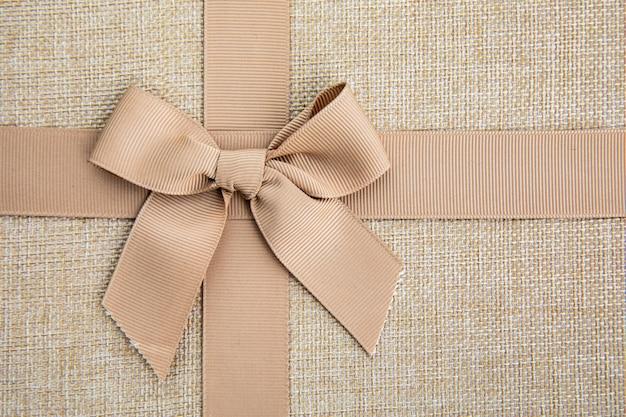 Close up cute ribbon bow Free Photo