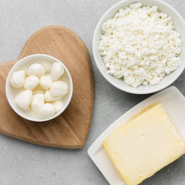Макро молочные продукты Бесплатные Фотографии