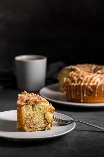 クローズアップおいしい自家製の甘いパン 無料写真