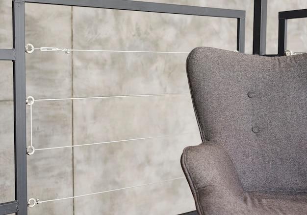 Close-up elegant modern armchair Free Photo