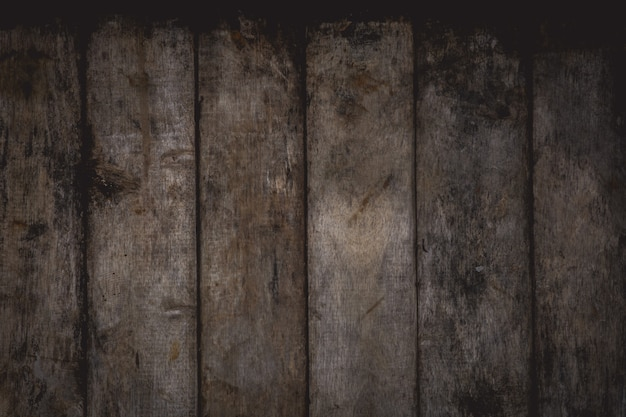Close-up of empty old wooden texture Premium Photo