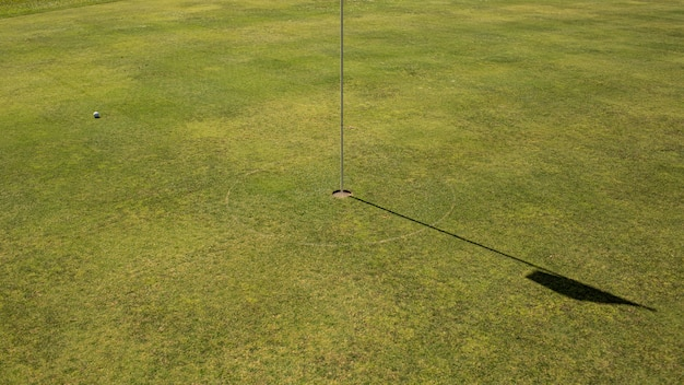 Close-up of a golf hole. bali. indonesia. Free Photo