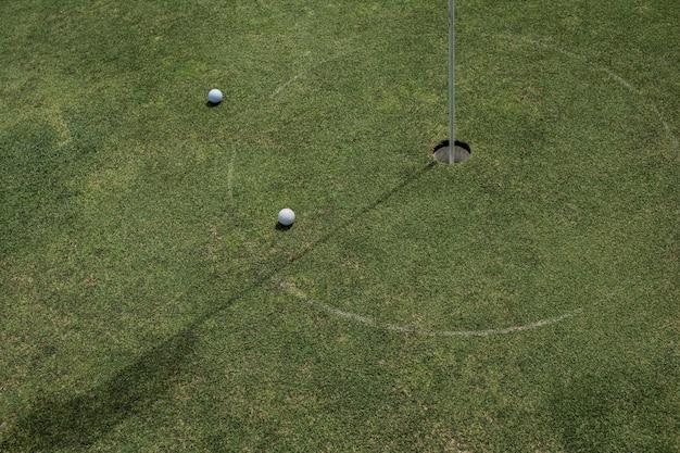 Close-up of a golf hole. bali. indonesia. Free Photo