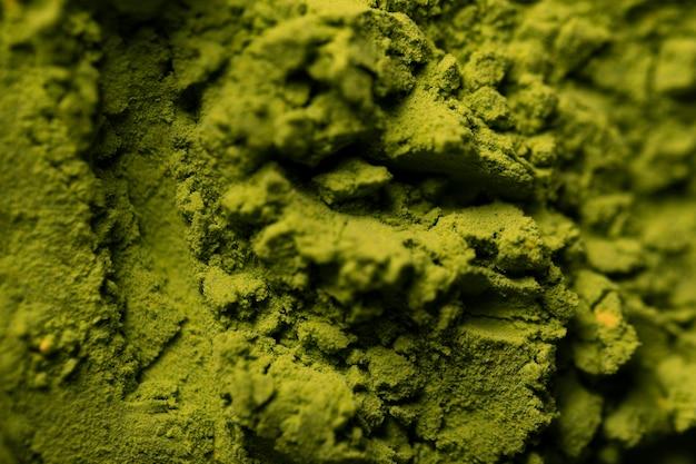 Close-up green asian matcha tea Free Photo