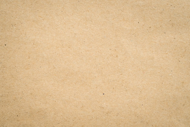 Close Up Kraft Brown Paper Texture And Background. Photo