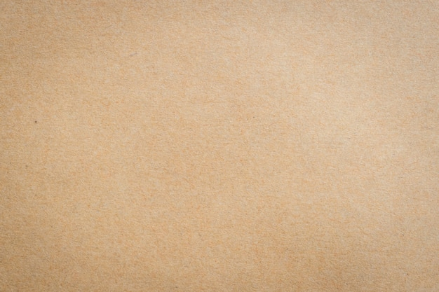 Close up kraft brown paper texture and background.   Premium Photo