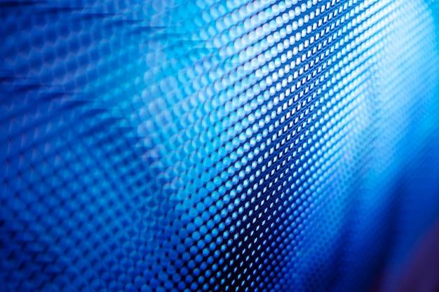 Close up of led blurred screen Premium Photo