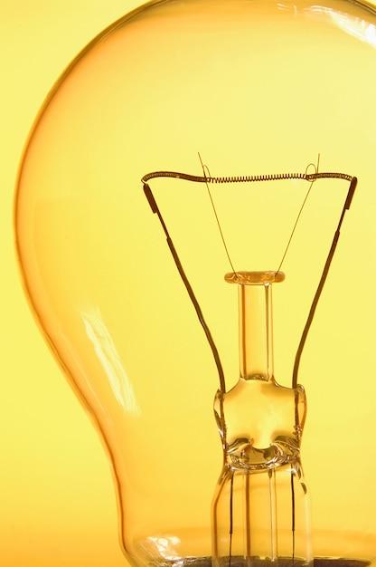 Close up of a ligth bulb Premium Photo