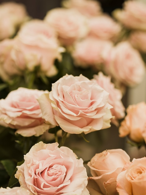 Close up of lovely wedding flowers Free Photo
